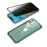 Custodia protettiva in vetro temperato bifacciale in metallo temperato antisdrucciolo Bakeey per iPhone 11 6.1 Pollici
