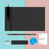 VEIKK S640 Graphics Drawing Tablet Digital Pen Tablet with 8192 Levels Passive Pen for Win and for Mac Drawing Board