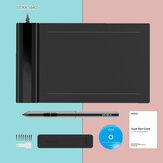 VEIKK S640 Grafiktablett Digitales Stifttablett mit 8192 Ebenen Passivstift für Win und Mac Drawing Board