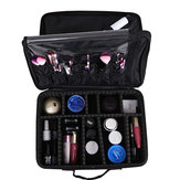 S/M/L Size Waterproof Female Oxford Waterproof Upgraded Version Cosmetic Storage Case Beauty Brush Organizer Desktop Makeup Bag
