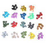 126PCS Polyhedral Dices Set For Dungeons & Dragons Dice Desktop RPG Game Dices