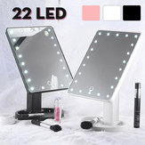 22 LED Beleuchteter Vanity-Touchscreen 360 ° drehbares Kosmetik-Make-up