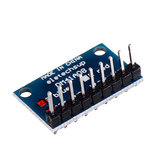 3pcs 3.3V 5V 8 Bit Blue Common Cathode LED Indicator Display Module DIY Kit