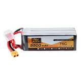 ZOP Power 22.2V 5500mAh 75C 6S Lipo Battery XT60 FPV RCヘリコプターカー飛行機用プラグ