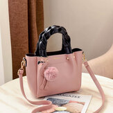 Women Fashion Handbag Crossbody Bag Flamingo Pendant Toe