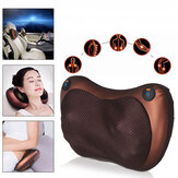12V 20W 12 Massage Heads Multifunctional Massage Pillow Infrared Cervical Lumbar Back Electric Massager Sports Fitness Fatigue Relax Tools