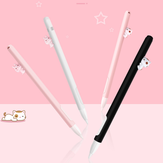 Cute Silica Gel Pen Case for Apple Pencil Anti-fall Magnetic Split Pencil Case for Ipad Pencil