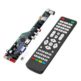 Geekcreit® T.SK106A.03 Universele LCD-tv-controller Driver Board PC / VGA / HD / USB-interface