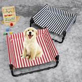 Elevated Dog Pet Bed Folding Portable Waterproof Outdoor Raised Camping Basket