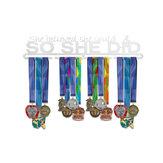 Rustfritt stål metallmedaljer Display Hanger Rack Running Sport Metal Rack Hook Sport Medal Holder