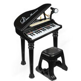 31 Keys Children Kids Electronic Keyboard Electronic Piano Microphone Stool Musical Gifts