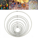 35mm ~ 160mm starke Metall Dreamcatcher / Macrame Craft Hoops / Ringfeder