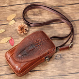 Men Genuine Leather Shoulder Bag Crossbody Bag Waist Bag