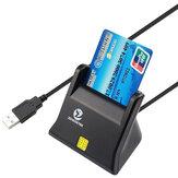 ZW-2026-3 EMV USB Lecteur de carte à puce Graveur DOD Accès commun militaire USB CAC