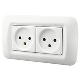 Dixinge Israel Standard Power Dual Socket Israel Type Wall Socket Prise de courant 16A 250V Power Outlet