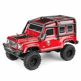 RGT 136240 V2 1/24 2.4G RC Car 4WD 15KM / H Vehicle RC Rock Crawler Off-road Two Battery