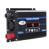 4000W Peak Car Power Inverter DC 12V to AC 110V 220V Dual USB Modified Sine Wave Converter With LED Screen