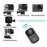 Smart Wireless WiFi Remote Control Controller Switch with Charge Cable Wrist Strap for GoPro Hero 7 6 5 4 Session Camera Accessory