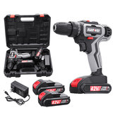 42/18V/12VF Rechargeable Impact Drill 25 Gear Lithium Hand Drill Driver Dual Speed Electric Screwdriver