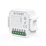 BlitzWolf® BW-SS5 1 Gang / 2 Gang To Way 10A 2300W WIFI Smart Switch Module APP Fjernbetjening Gruppestyringstimer