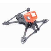 Pürüzsüz 5 225mm Dingil Mesafesi 5mm Kol 3 K Karbon Fiber 5 İnç Çerçeve Kit RC Drone FPV için Yarış