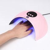Lampu UV Untuk Manicure LED Nail Pengering Lampu Sun Light Curing Al