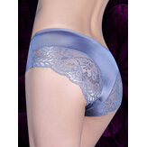 Seamless Lace Stitching Soft Women Briefs