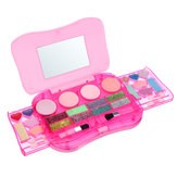Princess Maquillaje Set Toys for Kids Cosmetic Girls Kit Eyeshadow Lip Gloss Blushes