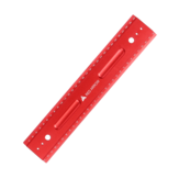 RED ARROW 300mm Metric Aluminum Alloy Striaght Ruler Gauge Precision Woodworking Square Measuring Tools