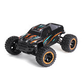 HBX 16889 1/16 2.4G 4WD 45 km / u Borstelloze RC Auto LED Licht Elektrisch Off-Road Truck RTR Model
