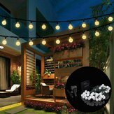 9.5M 50 LED Solar Fairy Bulb String Light 8 Modes Outdoor Indoor Garden Wedding Holiday Lamp Christmas Tree Decorations Lights