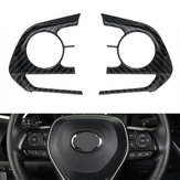 3Pcs Steering Wheel Sticker Trim For Toyota Corolla 2019-2020