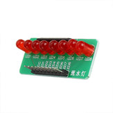 8 Way Water Light Marquee 5MM RED LED Light-emitting Diode Single Chip Module Diy Electronic MCU Expansion Module