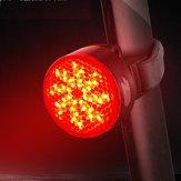 WEST BIKING 40LM IPX4 waterdichte COB fiets achterlicht 2 modi opladen via USB Waarschuwing fietslicht