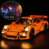USB LED Light Lighting Kit ALLEEN voor Lego 42056 911 GT3 RS Bricks Toys