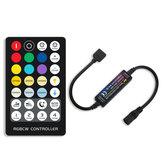 28 Teclas RF Mini Controle Remoto RGB + CCT Corrente Constante LED Controlador de Tira para Luzes Internas DC5-24V