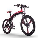 [EU Direct] RICH BIT TOP-880 250 Вт 36 В 9,6 Ач 26-дюймовый складной электрический велосипед с мопедом Гидравлический дисковый тормоз 35 км / ч Максимальная ск