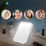 Makeup Mirrors Portable LED Lighted Switch for Tabletop Bath