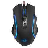 Redragon M607 6 Buttons 7200 DPI USB Wired Optical Mouse 7 Colors Backlight Ergonomic Gaming Mouse