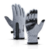 Winter warm winddicht wasserdichte Handschuhe Touchscreen Sport