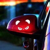 1pcs preto branco vermelho Panda adesivos de carro
