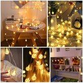 4M warmes Weiß Colorful Kugel-sternenklare Lampe 28LED Schnur-Licht für Garten-Weihnachtshochzeitsfest AC110V AC220V