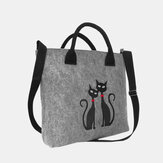 Women Fashion Crossbody Bag Cat Pattern Handbag