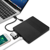 Ultradunne USB 3.0 extern optisch station USB-C-brander Notebook DVD-RW DVD / CD MacBook Laptop Type-C CD-stuurprogramma