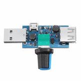USB-Mini-Lüfter mit einstellbarer Geschwindigkeit Windgeschwindigkeitsregler Computer-Kühlungsstummschaltung