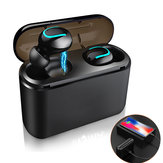 TWS True Wireless Mini Dynamic bluetooth 5.0 In-Ear Auricolare cuffia Auricolari sportivi con custodia di ricarica