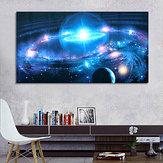 43 * 24インチアンドロメダ銀河星宇宙宇宙シルクポスターアート壁家の装飾塗料