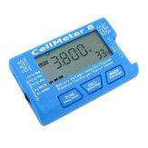 AOK CellMeter 8 Multifunctional Digital Battery Capacity Servo Checker Tester 2S-8S 4pcs