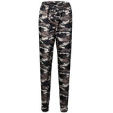 Women Camouflage Joggers Pants Sweatpants Loose Harem Drawstring Pants
