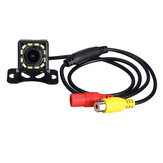 Waterproof Front and Car Rear View Visual External with 12 LED lights Camera